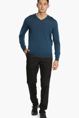 Double Layered Neck Sweater