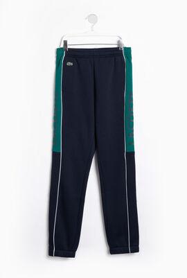Colourblock Fleece Sweatpants