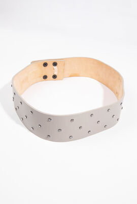 Visone Leather Belt