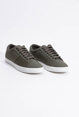 Flag Twill Olive Night Sneakers
