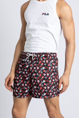 Grayson Leaves Print Swim Shorts