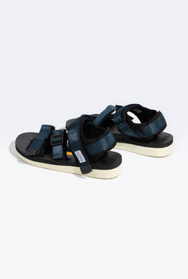 Kisee-V Strappy Slides