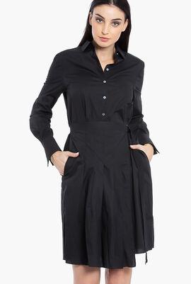 Poplin Shirt Dress