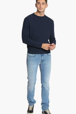 Gancini Jacquard Sweater