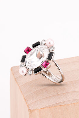 Blanche Silver Ring, 52mm