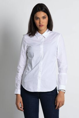Stretch Slim Fit Poplin Shirt
