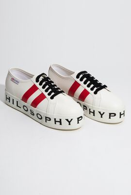 X Philosophy Leather Sneakers for Women