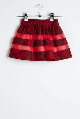 Gonna Rosso Skirt