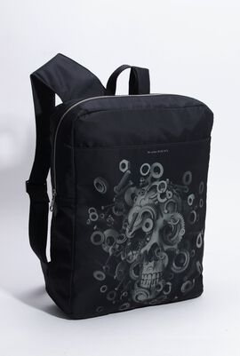 Skull Harness Nylon Backpack