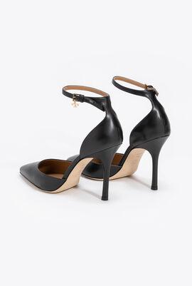 حذاء ذو كعب عالٍ وشريط بإبزيم عند الكاحل Penelope