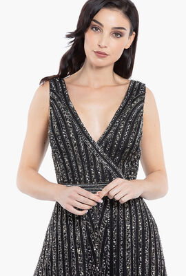 Art Deco Sequin Gown