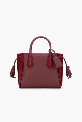 Le Foulonne Tassel Tote Bag
