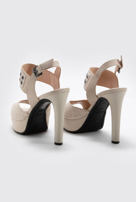 Felyxa C Leather Platform Sandals