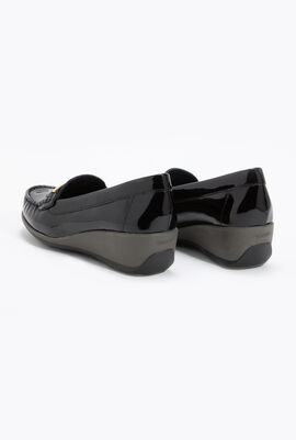 Arethea Patent Leather Loafers
