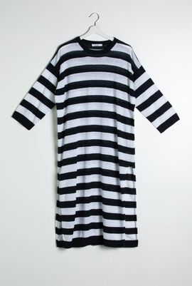 Rampure Striped Long Sweater
