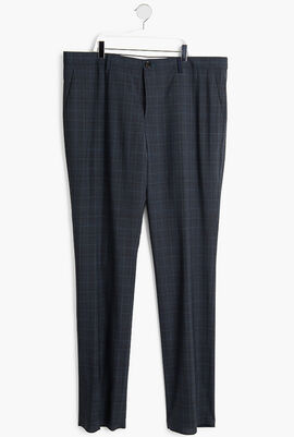 Plaid Trouser