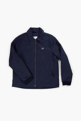 Cotton Poplin Zip Jacket