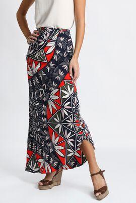 Silk Blend Maxi Skirt