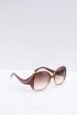 Full Rim Rectangular Sunglasses