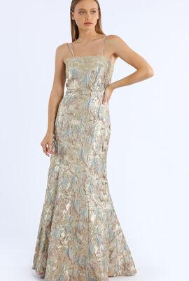 Spagetti Strap Long Gown