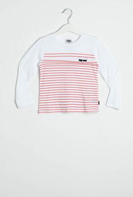Stripes Long Sleeves T-Shirt