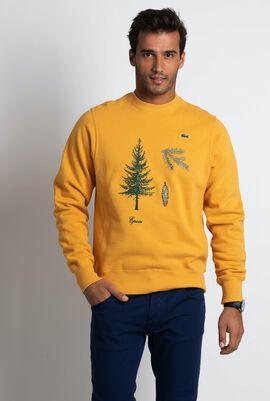 Epicea Embroidered Fleece Sweatshirt