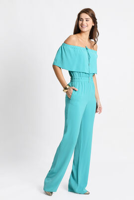 Sofocle Gathered Jumpsuit