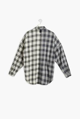 Bicolor Checkered Shirt