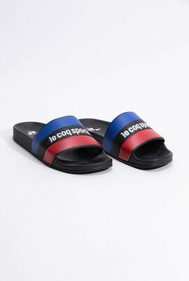 حذاء من Tricolore Slide