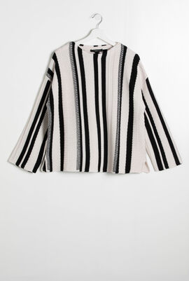 Oppio Striped Sweater