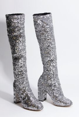 Vally Sequined Boots