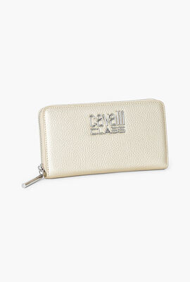 Leather Long Zip Around Wallet
