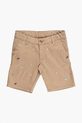 Multi Print Shorts