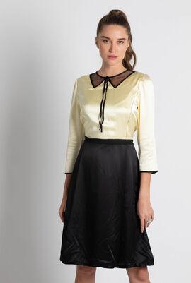 Colourblock A-Line Dress