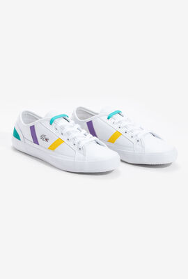 Sideline Leather Trainers