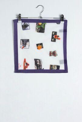 Landscape Purple Pocket Square