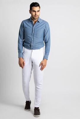 Panache Straight Linen Trousers