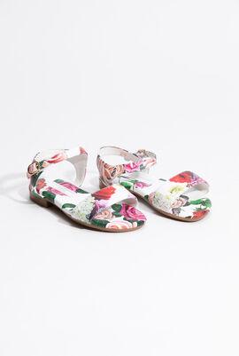Floral printed Sandals
