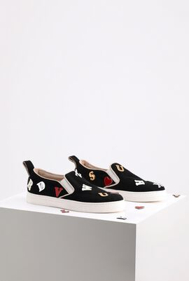 Fabric Slip-on Sneakers