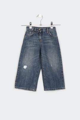 Culotte Denim Trousers