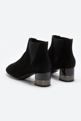 Chloo H Suede Ankle Boots