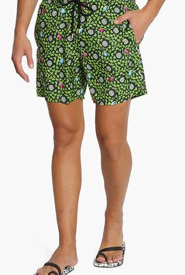 Where Is My Peacock Swim Shorts