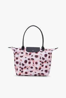 Le Pliage Floral Shoulder Bag