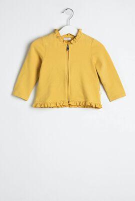 Pleated Zip Jacket