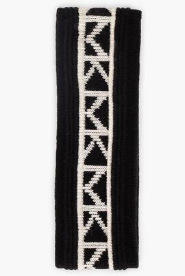 Logo Trim Nylon-Blend Headband