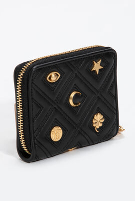 Fleming Charm Medium Wallet
