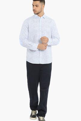Sunglasses Print Slim Fit Shirt