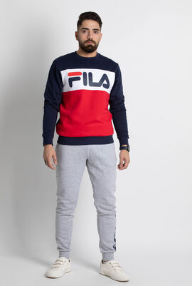 Ostler Colour Block Crew Sweatshirt