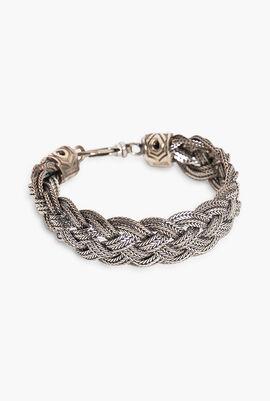 Diamond Cut Chain Bracelet