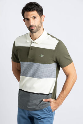 Regular Fit Colourblock Polo Shirt